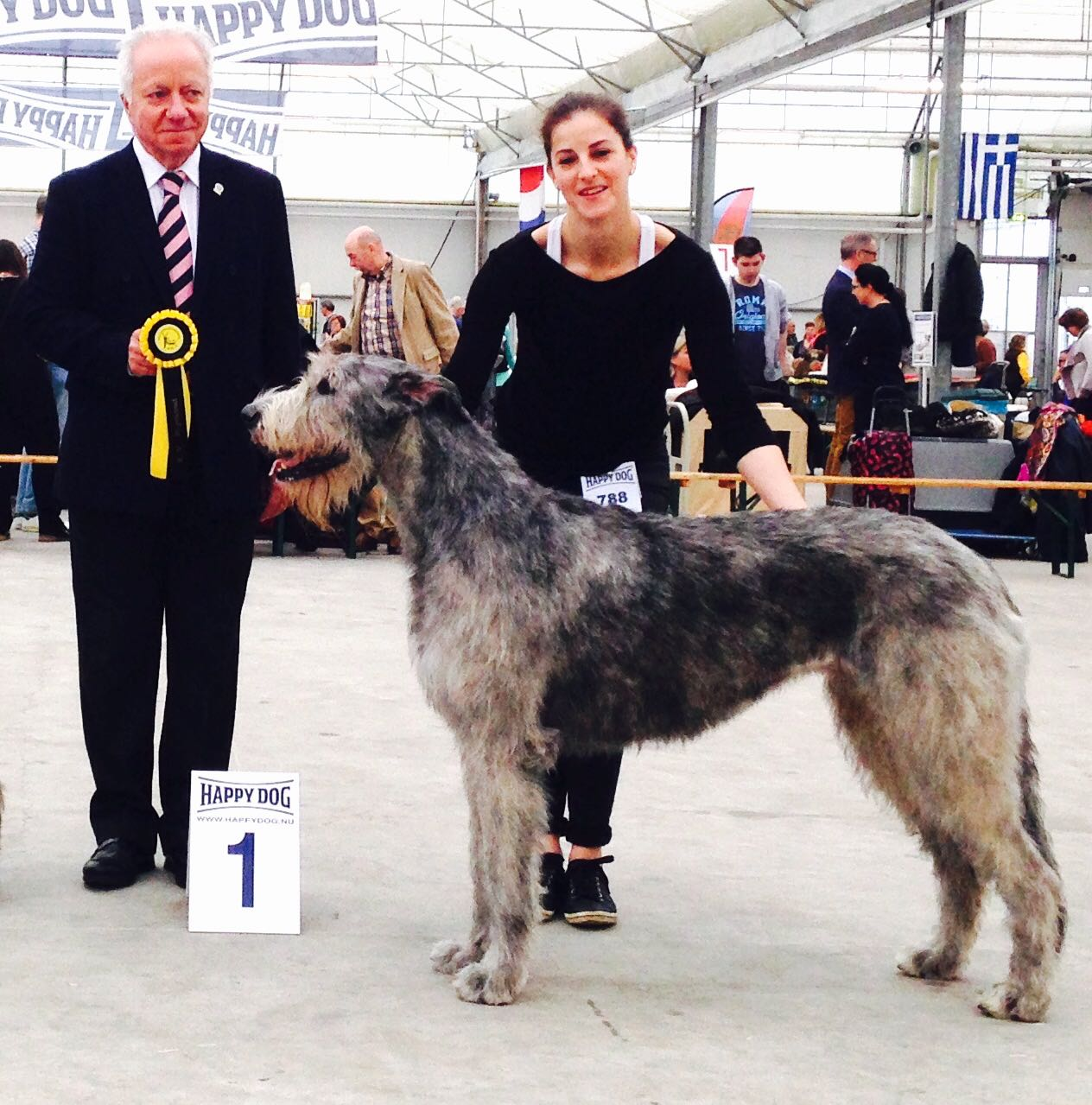 Seven Best of Breed and fourth in group!